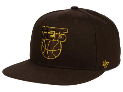 New Jersey Nets '47 NBA HWC '47 Brown Sure Shot Snapback Cap