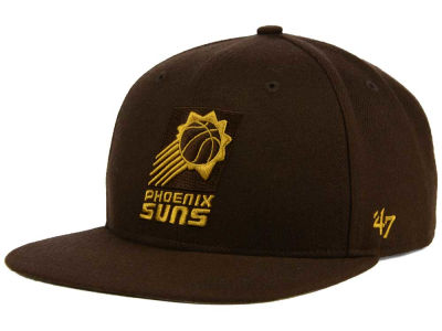 Phoenix Suns '47 NBA HWC '47 Brown Sure Shot Snapback Cap