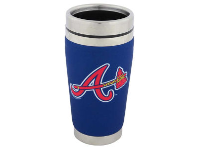 Atlanta Braves 16oz Stainless Steel Travel Tumbler
