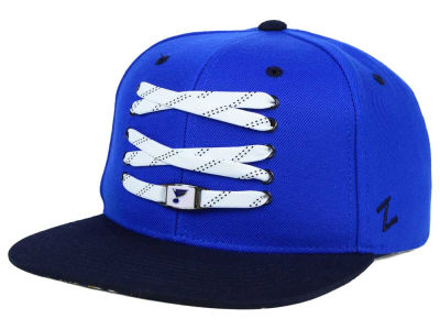 St. Louis Blues Zephyr NHL Lacer Skate Snapback Hat