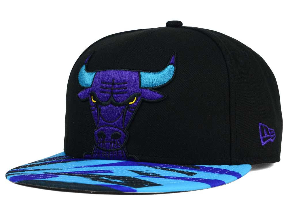 ed147bcff20 Chicago Bulls New Era NBA HWC Aqua 8 Hook Up 9FIFTY Snapback Cap ...