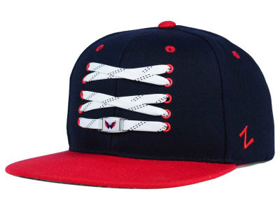 Washington Capitals Zephyr NHL Lacer Skate Snapback Hat