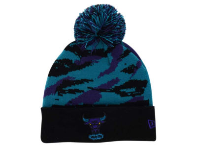 Chicago Bulls New Era NBA HWC Aqua 8 Hook Up Knit