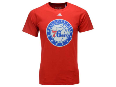 Philadelphia 76ers adidas NBA Men's High End Patch T-Shirt
