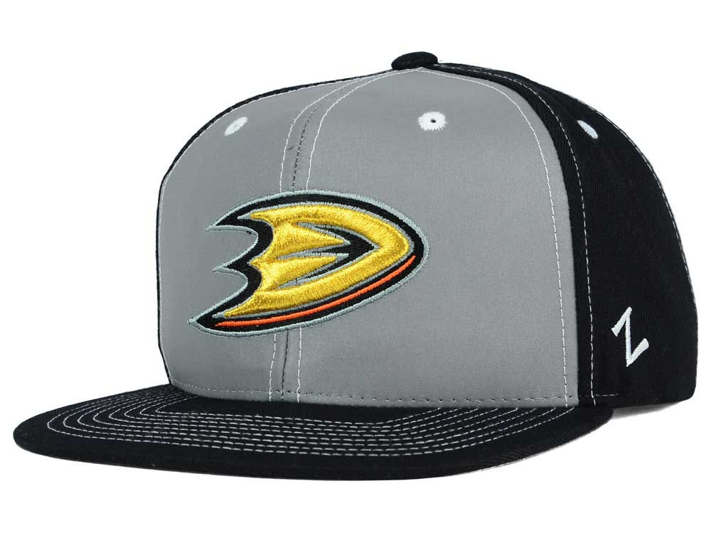 the best attitude 72e81 3da2b ... ebay anaheim ducks zephyr nhl 3m night game reflective snapback hat  b4a97 543c9