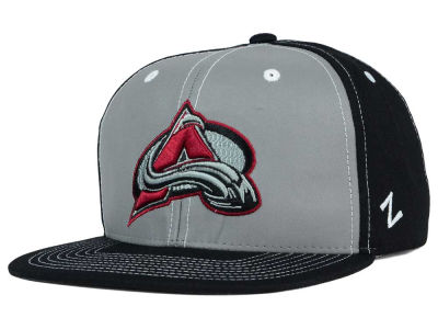 Colorado Avalanche Zephyr NHL 3M Night Game Reflective Snapback Hat