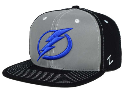 Tampa Bay Lightning Zephyr NHL 3M Night Game Reflective Snapback Hat