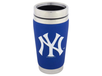 New York Yankees 16oz Stainless Steel Travel Tumbler