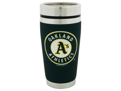 Oakland Athletics 16oz Stainless Steel Travel Tumbler