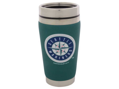 Seattle Mariners 16oz Stainless Steel Travel Tumbler