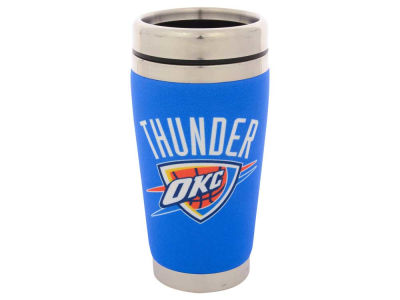 Oklahoma City Thunder 16oz Stainless Steel Travel Tumbler