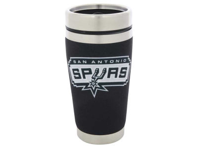 San Antonio Spurs 16oz Stainless Steel Travel Tumbler