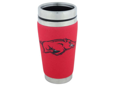 Arkansas Razorbacks 16oz Stainless Steel Travel Tumbler