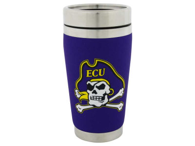 East Carolina Pirates 16oz Stainless Steel Travel Tumbler