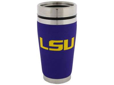 LSU Tigers 16oz Stainless Steel Travel Tumbler