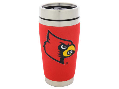Louisville Cardinals 16oz Stainless Steel Travel Tumbler