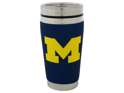 Michigan Wolverines 16oz Stainless Steel Travel Tumbler
