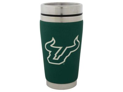 South Florida Bulls 16oz Stainless Steel Travel Tumbler