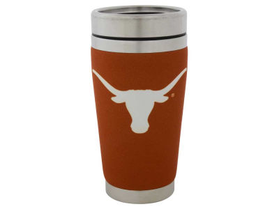 Texas Longhorns 16oz Stainless Steel Travel Tumbler