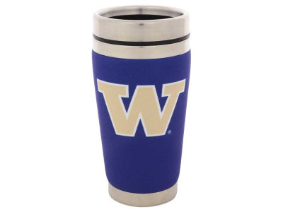 Washington Huskies 16oz Stainless Steel Travel Tumbler