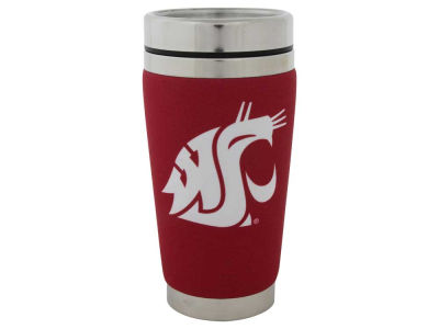 Washington State Cougars 16oz Stainless Steel Travel Tumbler