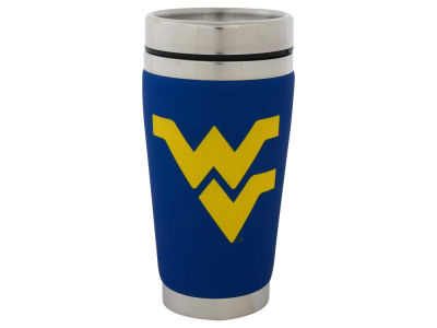 West Virginia Mountaineers 16oz Stainless Steel Travel Tumbler