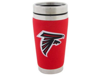 Atlanta Falcons 16oz Stainless Steel Travel Tumbler