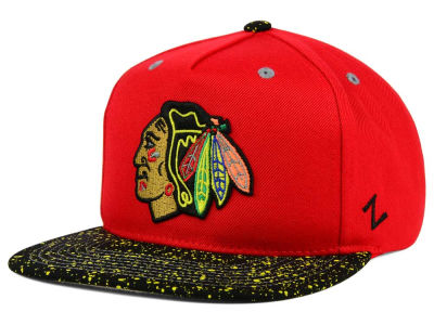 Chicago Blackhawks Zephyr NHL Bright Splatter Snapback Hat