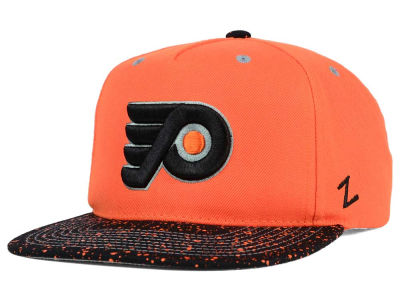 Philadelphia Flyers Zephyr NHL Bright Splatter Snapback Hat