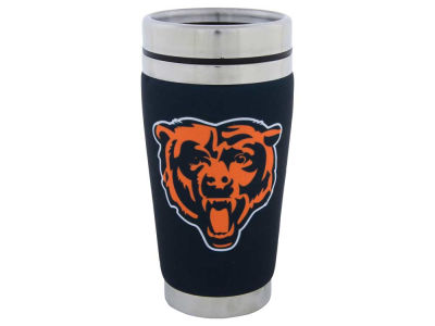 Chicago Bears 16oz Stainless Steel Travel Tumbler