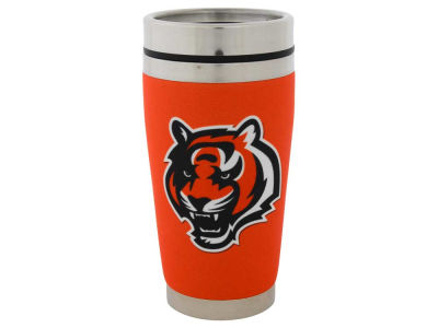 Cincinnati Bengals 16oz Stainless Steel Travel Tumbler