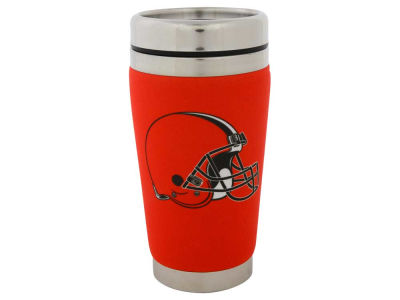Cleveland Browns 16oz Stainless Steel Travel Tumbler