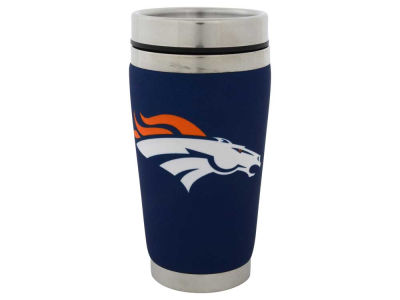 Denver Broncos 16oz Stainless Steel Travel Tumbler