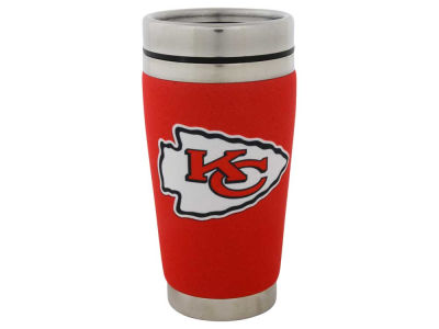 Kansas City Chiefs 16oz Stainless Steel Travel Tumbler