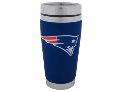 New England Patriots 16oz Stainless Steel Travel Tumbler