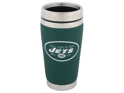 New York Jets 16oz Stainless Steel Travel Tumbler