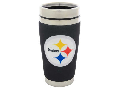 Pittsburgh Steelers 16oz Stainless Steel Travel Tumbler