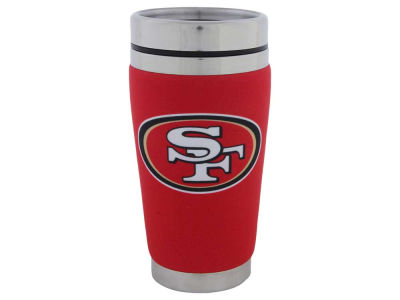 San Francisco 49ers 16oz Stainless Steel Travel Tumbler