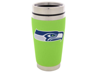 Seattle Seahawks 16oz Stainless Steel Travel Tumbler