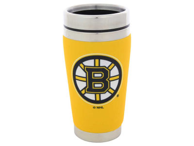 Boston Bruins 16oz Stainless Steel Travel Tumbler