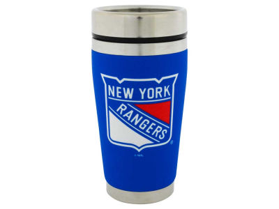 New York Rangers 16oz Stainless Steel Travel Tumbler