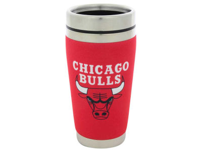 Chicago Bulls 16oz Stainless Steel Travel Tumbler