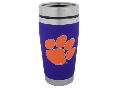 Clemson Tigers 16oz Stainless Steel Travel Tumbler