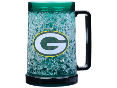 Green Bay Packers 16oz Freezer Mug Color Insert