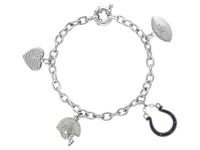 Indianapolis Colts Honora Dangle Charm Bracelet