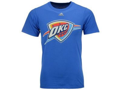 Oklahoma City Thunder adidas NBA Men's High End Patch T-Shirt