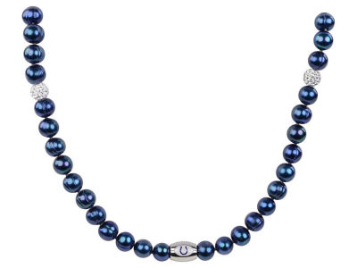 Indianapolis Colts Honora Necklace with Sparkle Beads