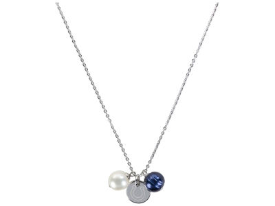 Indianapolis Colts Honora Honora Necklace with Pearl Beads and Charm