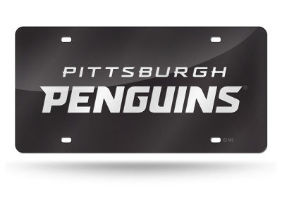 Pittsburgh Penguins Acrylic Laser Tag