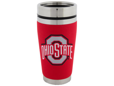 Ohio State Buckeyes 16oz Stainless Steel Travel Tumbler